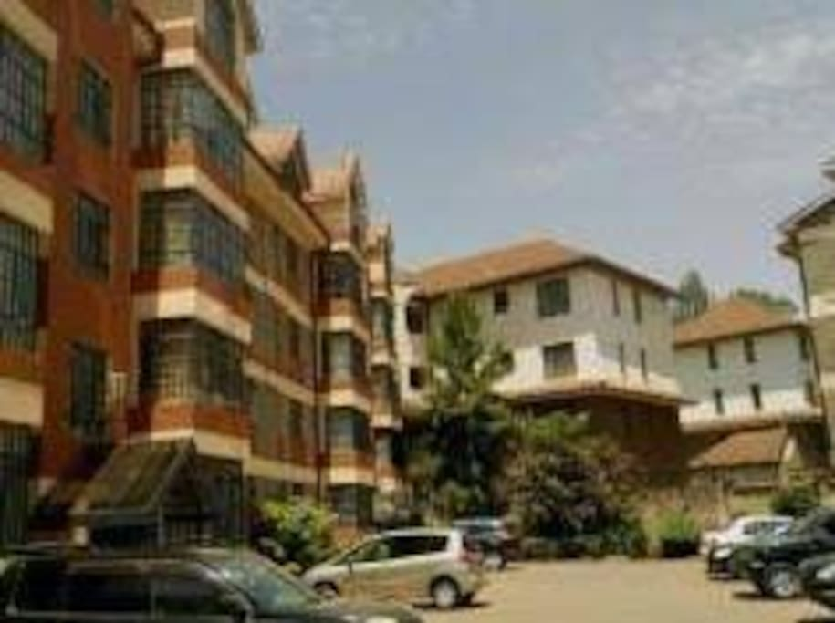 Forty Place Apartments is nestled in the leafy suburbs of upmarket Lavington estate in Nairobi.