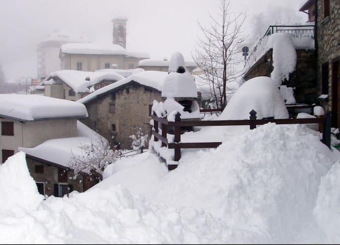 Monolocale montagna vacanza Foppolo 3 persone - Foppolo - Leilighet