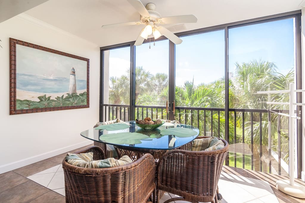 Lanai - Open to Living Area