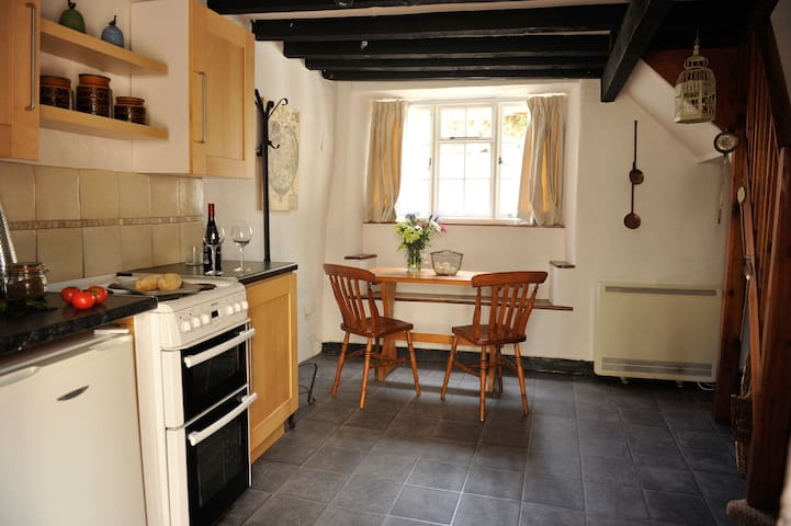 Quirky cottage next to  pub - Cheriton Fitzpaine