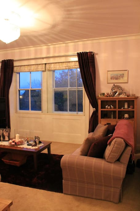 Huge Lounge with views overlooking the dales.