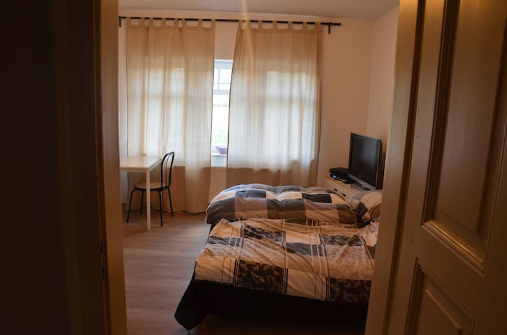 Small Apartment close to Leipzig Messe