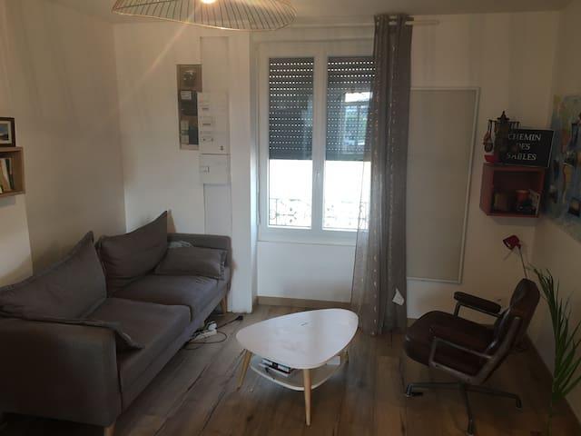 Appartement charmant récemment rénové
