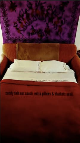 NEW-Vibey Comfy Pull-out couch near Boulder&Denver - Golden - Appartement