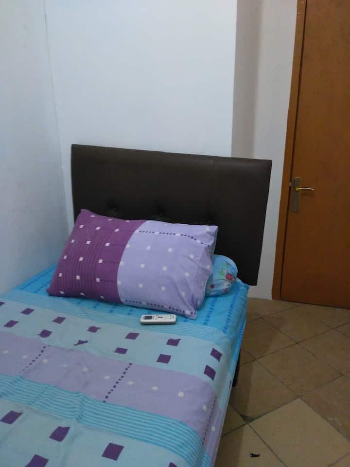 Simple single room  at Muwardi 2/27B, West Jakarta