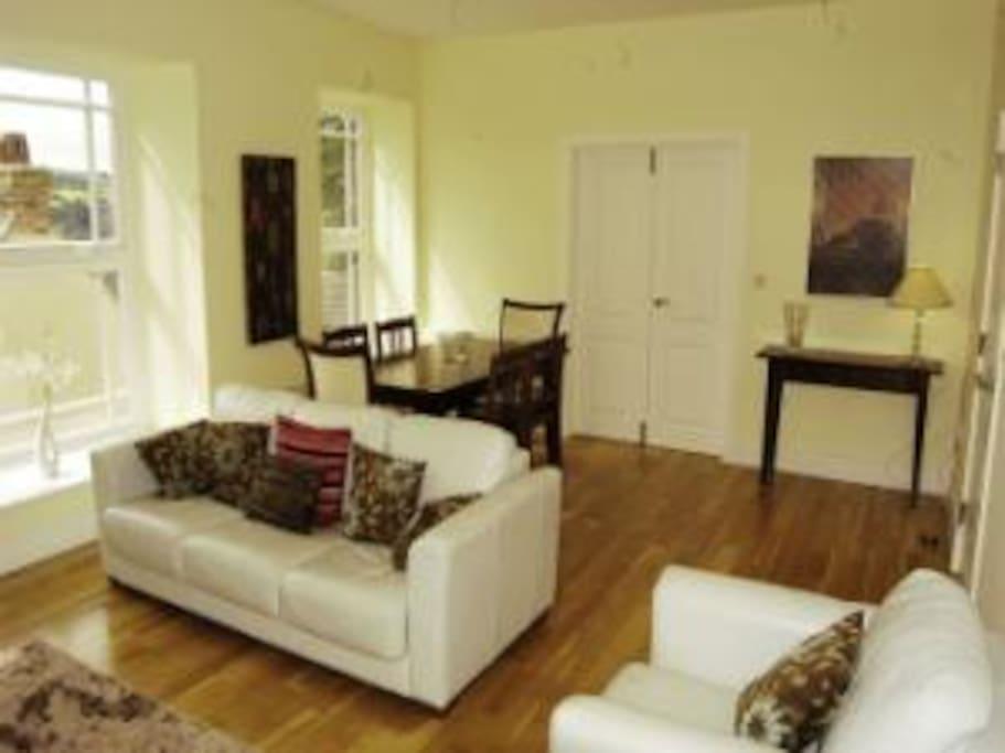 Lounge  - 3 large windows with terrific views!