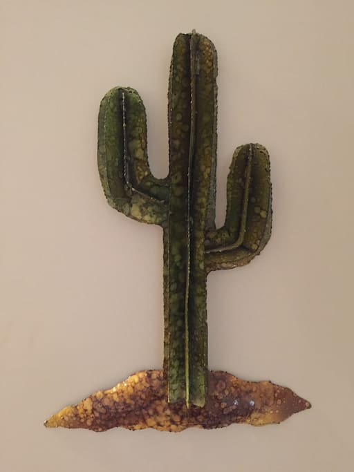 Mexican art made from recycled metal.