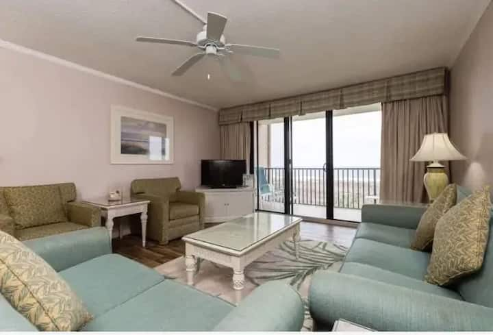 Beach Front! See Waves From Deck! 2BR/2BA! Tennis!
