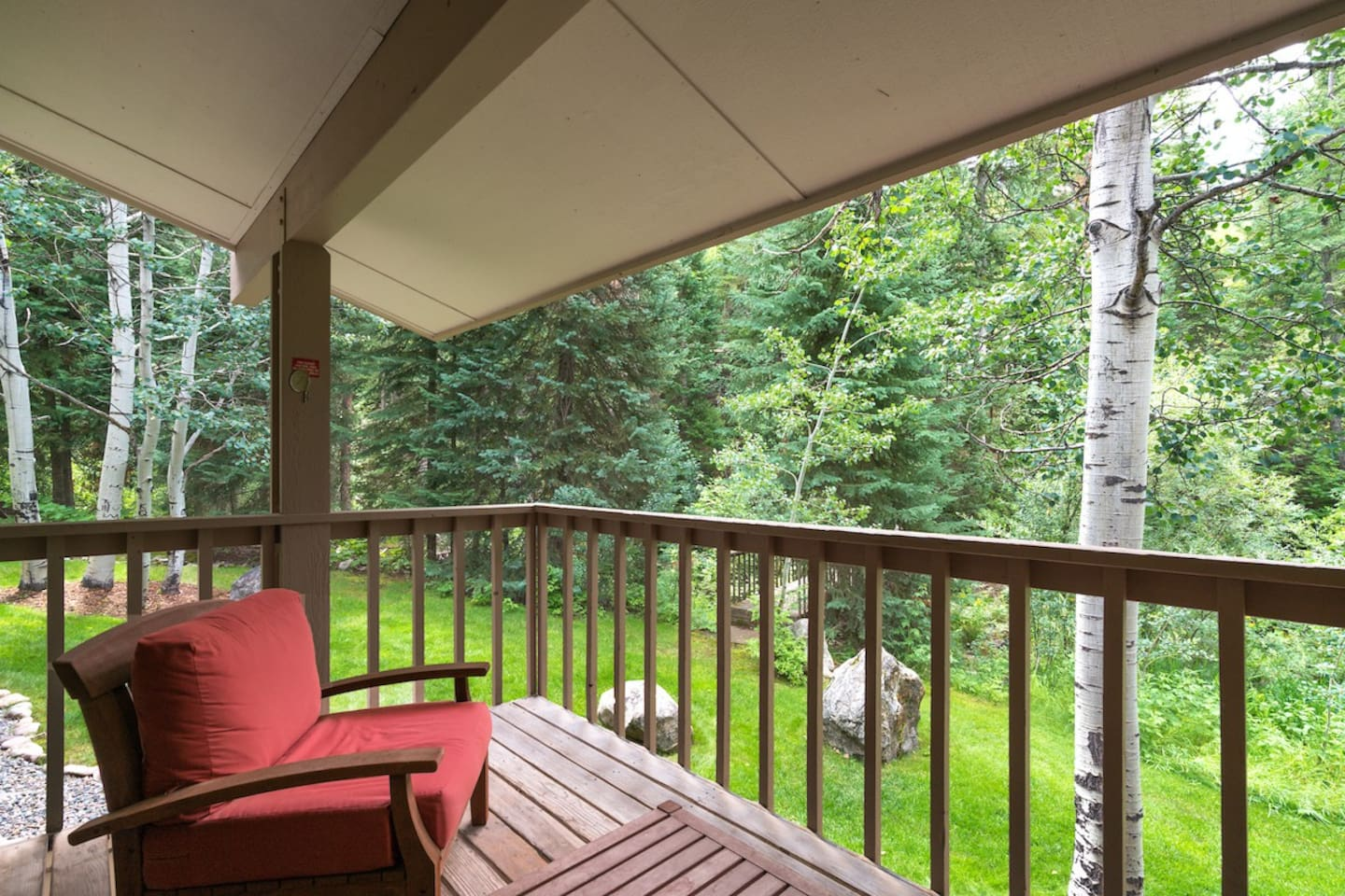 Quiet townhome backing to woods and a creek