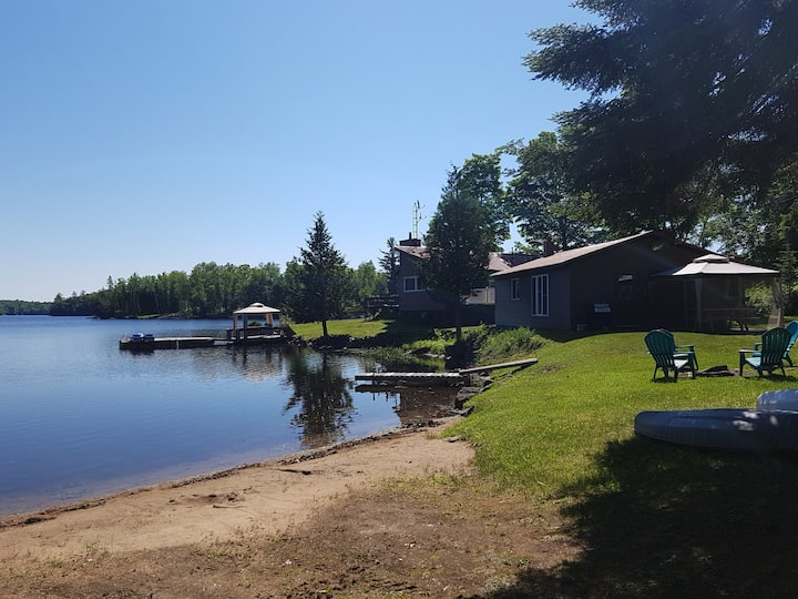 The Steenburg Lake Guest House Staycation.