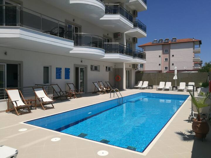 Luxury apartments Grand in Olympic Beach