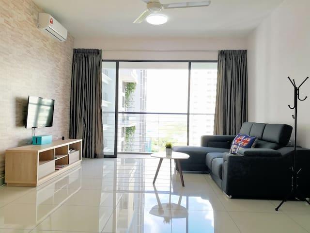 Cozy Home 2~6pax | 5 min Penang Sentral |Free WIFI