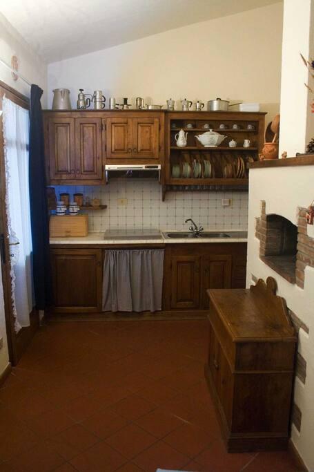 full working kitchen