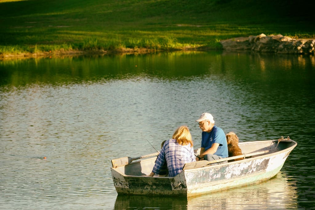 Fishing on the Pond