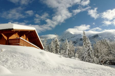 Entire chalet with spectacular view - 10 pers