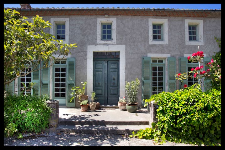 Room w Pyrenees views South France - Castelnaudary - Bed & Breakfast