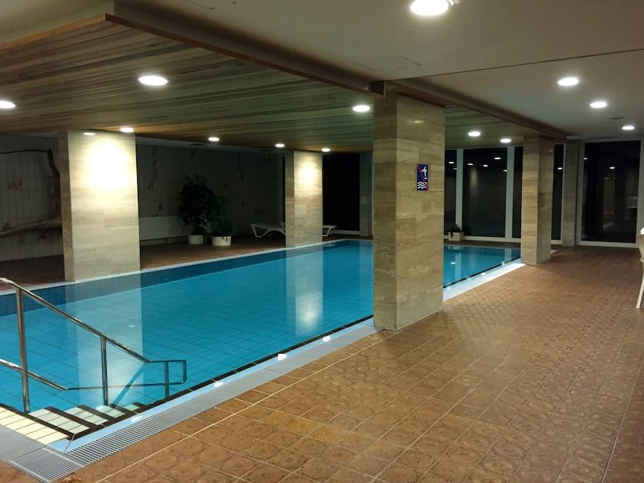 ferienwohnung mit sauna pool apartments for rent in cuxhaven niedersachsen germany. Black Bedroom Furniture Sets. Home Design Ideas