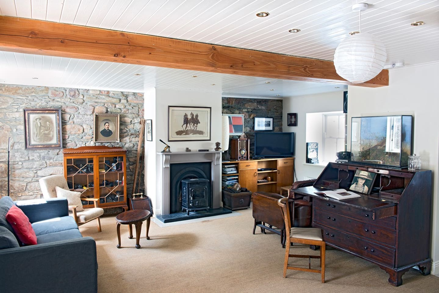 Main Room off kitchen, a really pleasant living space.
