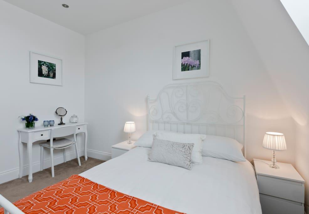 Top Floor bedroom with double bed