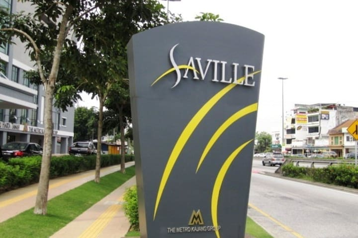 Saville Residence Near by Midvalley Mega Mall
