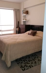 Bed room in a confortable flat - Santiago de Surco