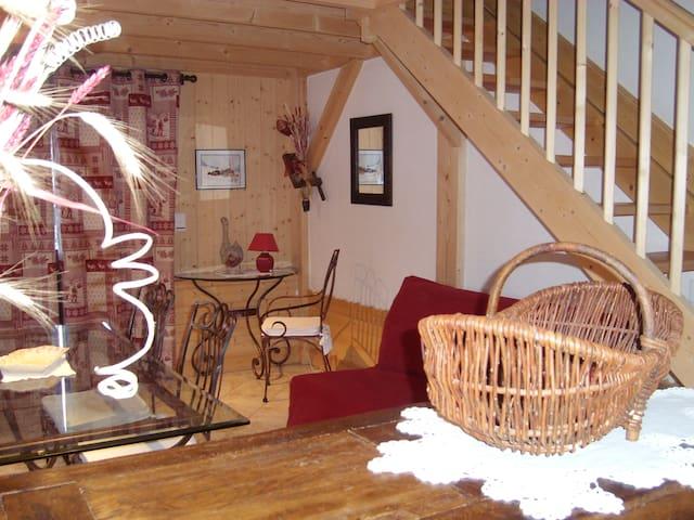 Gite/appartement 4 à 6 personnes - Verrens-Arvey - House