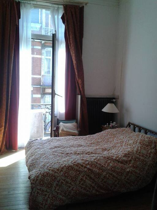The bedroom... the sun shines here on the morning!