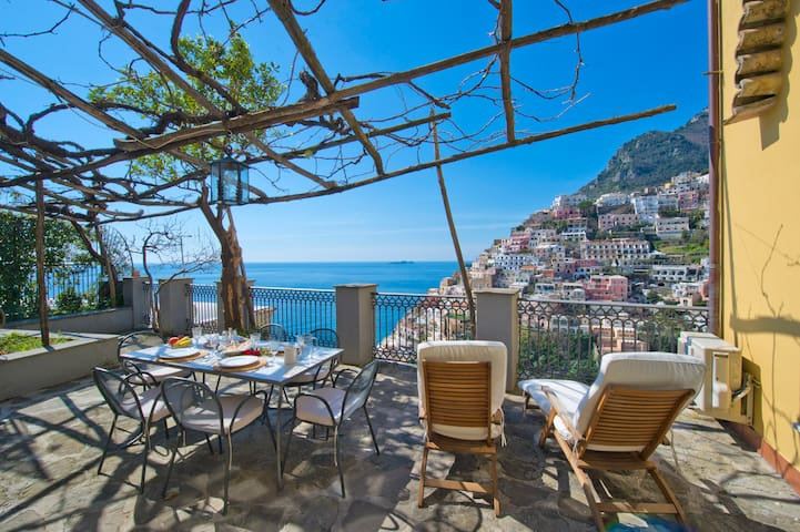 Sponda apartment luxury sea view - Positano - Lägenhet