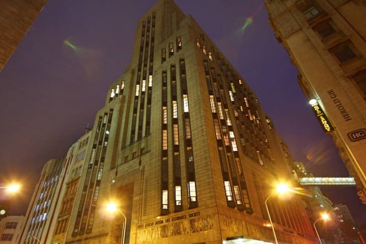 Art Deco Mutual Heights building