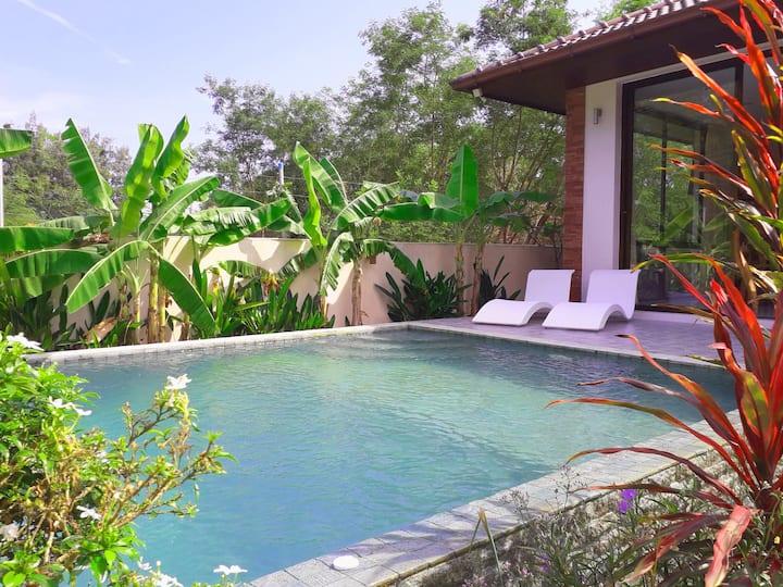 2 bedroom villa with private pool in LAMAI