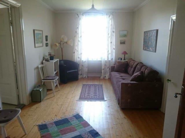 Rum med tillgång till litet kök/bad