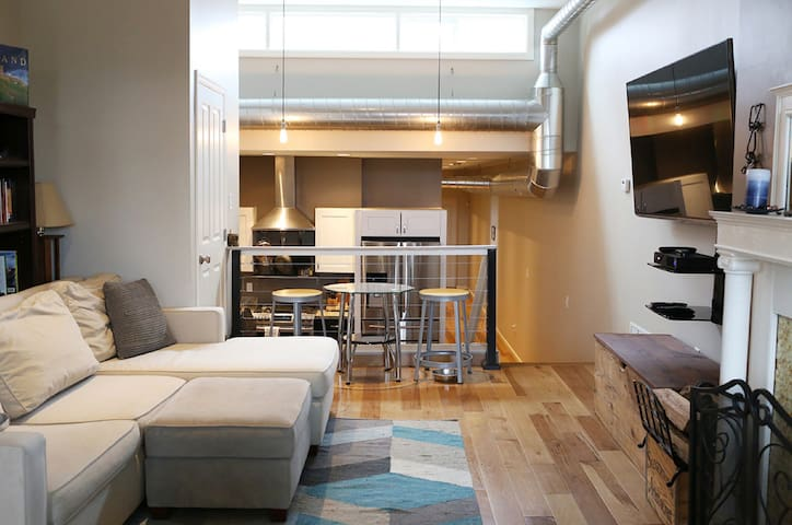 3rd Floor City Apt. w/ Roof Deck! - Pittsburgh - Daire