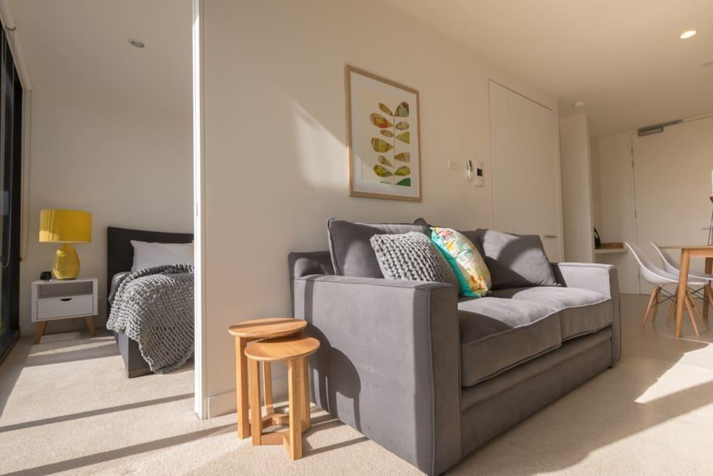 Cleverly designed floor plan for easy living