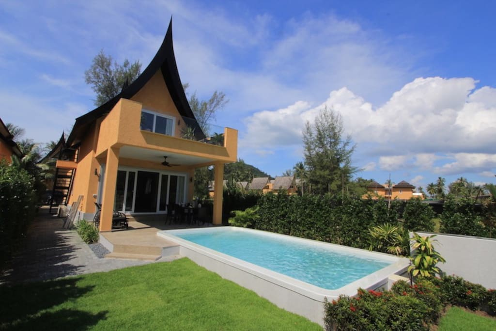 3 bedroom koh chang beach villa 64b houses for rent in for 9 bedroom beach house rental