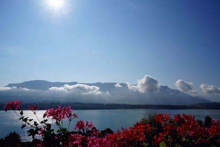 Appartement vue lac et montagnes - Daire