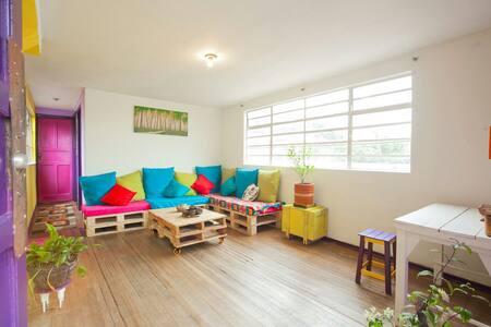 Apartamento privado con terraza - Appartement