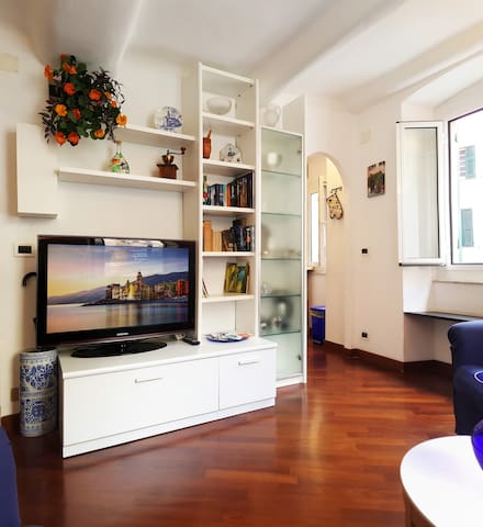 Charming apartment nestled in the heart of Camogli