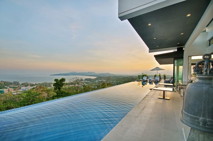 Luxury Villa with Amazing Sea View - Choeng Thale - Casa de camp