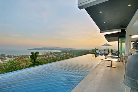 Luxury Villa with Amazing Sea View - Choeng Thale - Vila