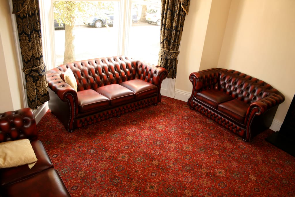 Relax in our comfy Lounge