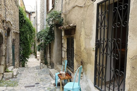 Typical house in historic center - Vence - Apartment
