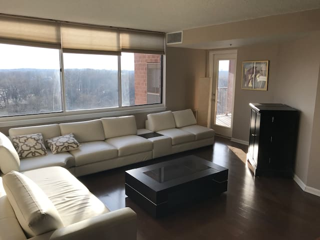 Entire Apartment with a Lot of Light & Great View - Rockville - Apartment