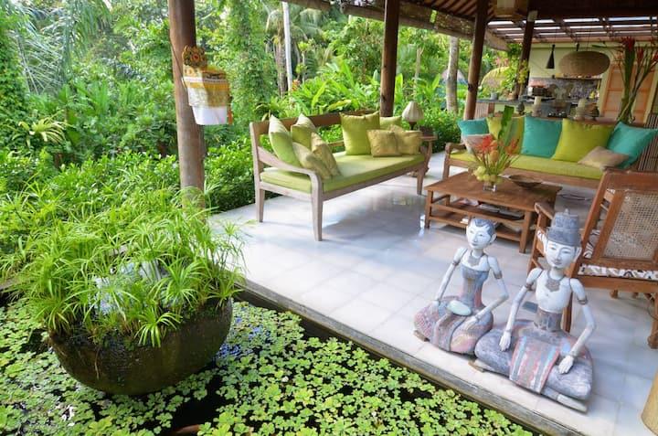 Fab Ubud 2 or 3 bedroom garden villa with pool