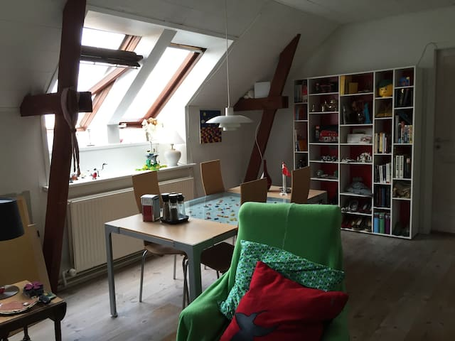 Big and beautiful loft in Aarhus C