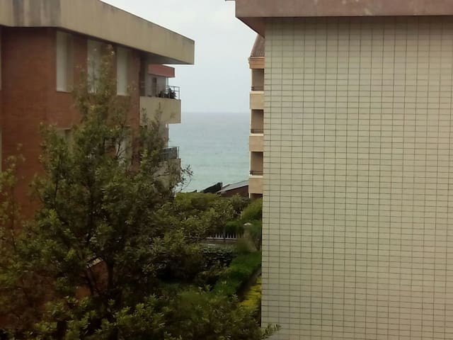 Habitaci n playa de zarautz apartamentos en alquiler en zarautz pa s vasco espa a - Apartamentos sobre el mar zarautz ...