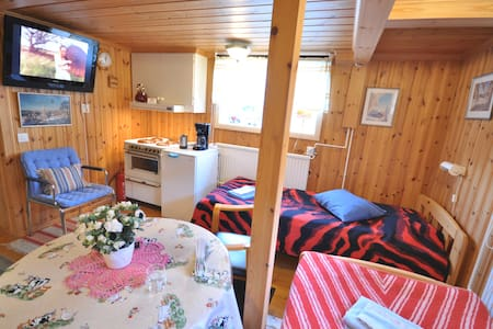 Villa Grönstedt, Dubbelrum Budget - Kramfors N - โฮสเทล