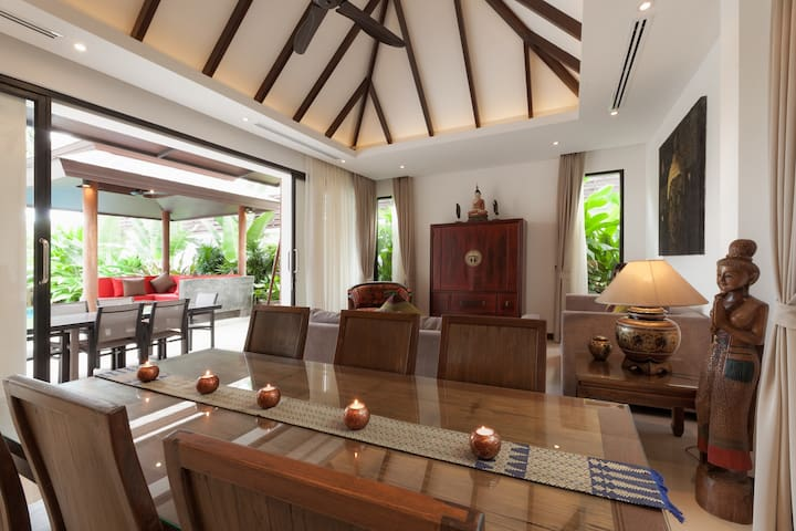 Private Pool Villa Thai-Bali 2 BR - phuket - Villa