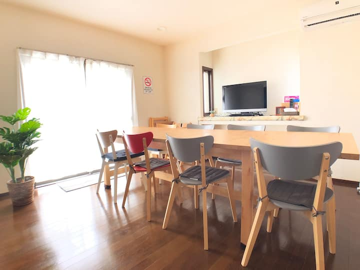 Boso Beach House: Countryside Japan! Max 10 ppl