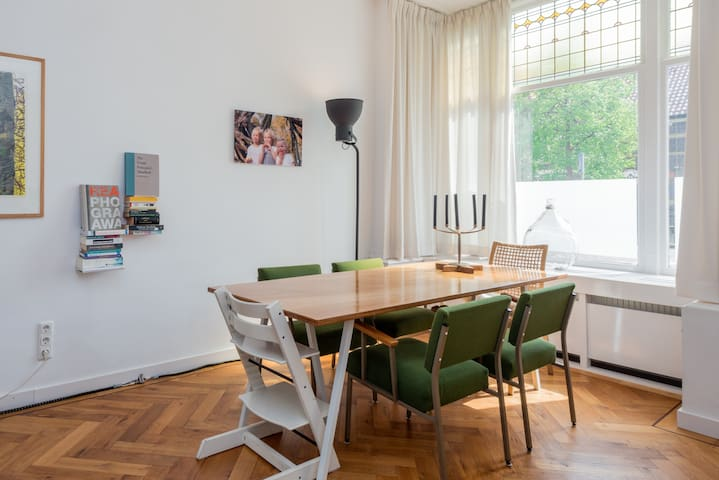 Dining table for eight persons max.
