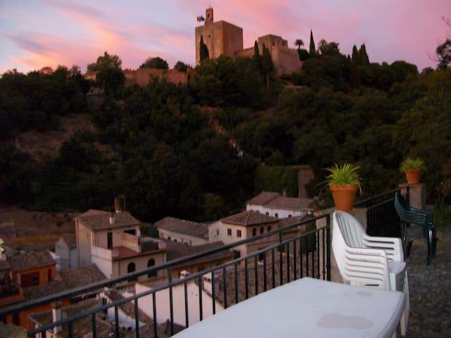 APART.  GRANADA JUNTO ALHAMBRA - Granada - Apartamento